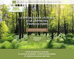 Mise en ligne du site de votre paysagiste à Guichen, Bruz, Rennes et alentours !